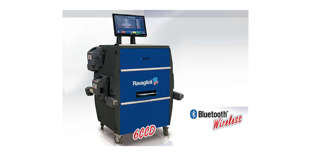 Ravagliolo 6CCD Bluetooth Wheel Alignment and FastCheck